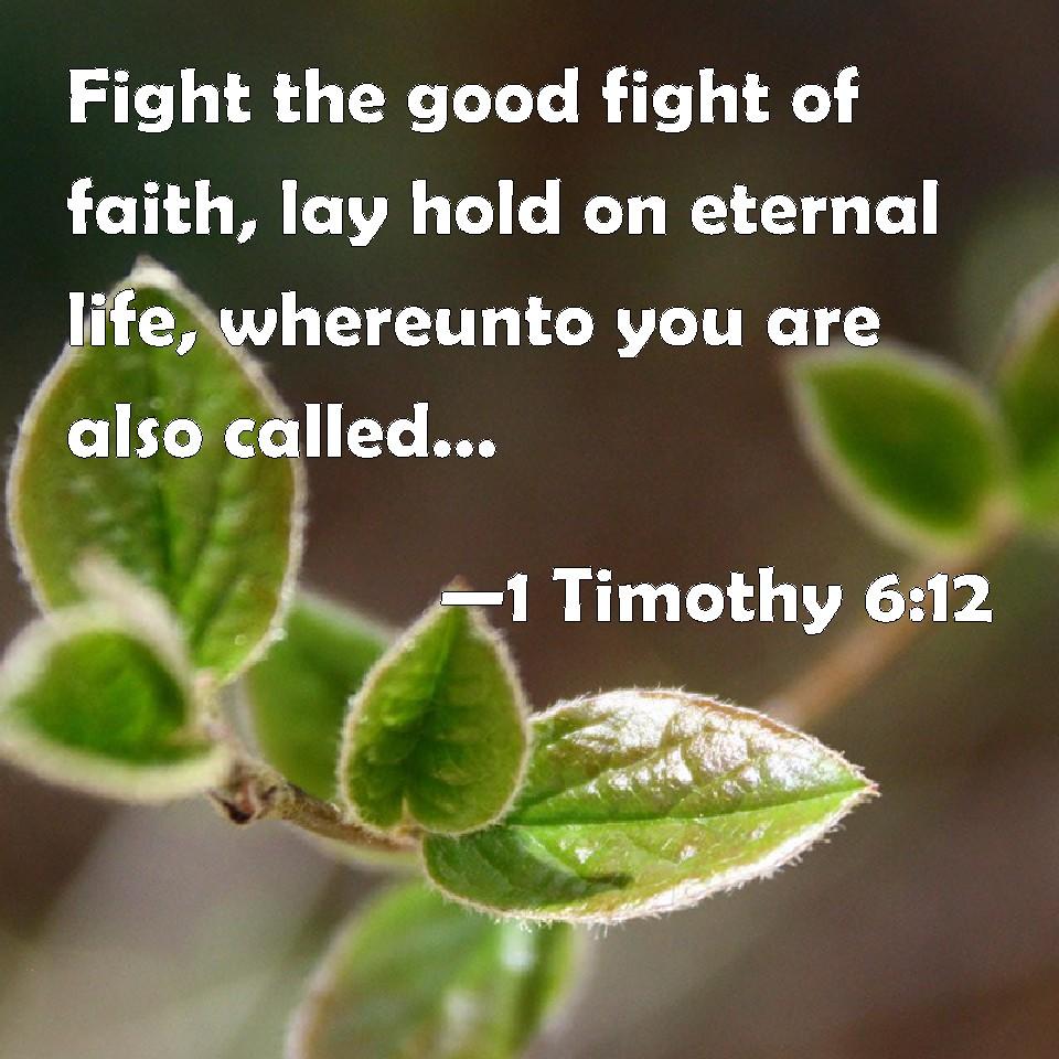 fight for faith